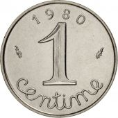 France, Épi, Centime, 1980, Paris, SPL, Stainless Steel, KM:928, Gadoury:91