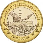 Falkland Islands, 2 Pounds, 2014, SPL, Bi-Metallic