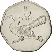 Botswana, 5 Thebe, 2013, SPL, Copper Plated Steel