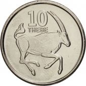 Botswana, 10 Thebe, 2013, SPL, Copper Plated Steel