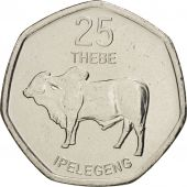 Botswana, 25 Thebe, 2013, SPL, Copper Plated Steel