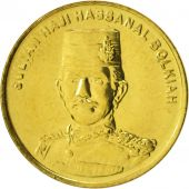 BRUNEI, Cent, 2013, SPL, Brass Clad Steel