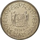 Surinam, 10 Cents, 1989, MS(63), Nickel plated steel, KM:13a