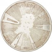 Pays-Bas, 5 Euro, 2008, SUP, Silver Plated Copper, KM:279a