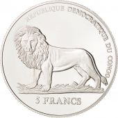 CONGO, DEMOCRATIC REPUBLIC, 5 Francs, 2007, MS(65-70), KM:178