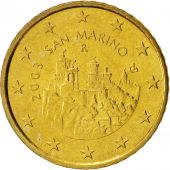 San Marino, 50 Euro Cent, 2003, MS(63), Brass, KM:445