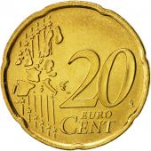 San Marino, 20 Euro Cent, 2005, MS(63), Brass, KM:444