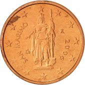 San Marino, 2 Euro Cent, 2006, MS(60-62), Copper Plated Steel, KM:441