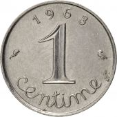 France, Épi, Centime, 1963, Paris, TTB, Stainless Steel, KM:928, Gadoury:91