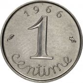 France, Épi, Centime, 1966, Paris, SUP, Stainless Steel, KM:928, Gadoury:91