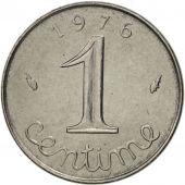 France, Épi, Centime, 1976, Paris, MS(63), Stainless Steel, KM:928, Gadoury:91