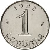 France, Épi, Centime, 1983, Paris, SPL, Stainless Steel, KM:928, Gadoury:91