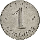 France, Épi, Centime, 1992, Paris, SUP, Stainless Steel, KM:928