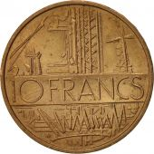 France, Mathieu, 10 Francs, 1977, Paris, TTB, Nickel-brass, KM:940, Gadoury:814