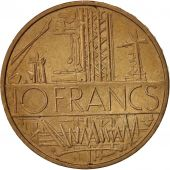 France, Mathieu, 10 Francs, 1979, Paris, TTB+, Nickel-brass, KM:940, Gadoury:814