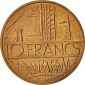 France, Mathieu, 10 Francs, 1984, SPL, Nickel-brass, KM:940, Gadoury:814