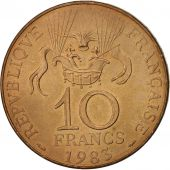 France, La conquête, 10 Francs, 1983, TTB, Nickel-Bronze, KM:952, Gadoury:816