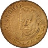 France, Stendhal, 10 Francs, 1983, TTB, Nickel-Bronze, KM:953, Gadoury:817