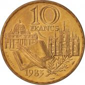 France, Stendhal, 10 Francs, 1983, SPL, Nickel-Bronze, KM:953, Gadoury:817