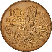 France, François Rude, 10 Francs, 1984, SPL, Nickel-Bronze, KM:954, Gadoury:818