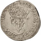 France, Teston, 1565, Limoges, VF(20-25), Silver, Sombart:4614