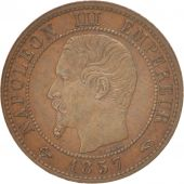 France, Napoléon III, Centime, 1857, Paris, SUP, Bronze, KM:775.1