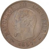 France, Napoléon III, Centime, 1857, Bordeaux, SUP, Bronze, KM:775.5