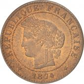 France, Cérès, Centime, 1874, Paris, SUP, Bronze, KM:826.1, Gadoury:88
