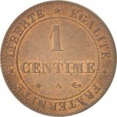 France, Cérès, Centime, 1874, Paris, AU(55-58), Bronze, KM:826.1, Gadoury:88