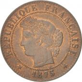 France, Cérès, Centime, 1875, Bordeaux, SUP, Bronze, KM:826.2, Gadoury:88