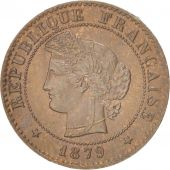France, Cérès, Centime, 1879, Paris, SUP, Bronze, KM:826.1, Gadoury:88