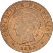 France, Cérès, Centime, 1884, Paris, SUP+, Bronze, KM:826.1, Gadoury:88