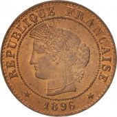 France, Cérès, Centime, 1896, Paris, SUP+, Bronze, KM:826.1, Gadoury:88