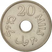 Palestine, 20 Mils, 1934, TTB, Copper-nickel, KM:5
