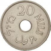 Palestine, 20 Mils, 1940, TTB, Copper-nickel, KM:5