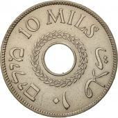 Palestine, 10 Mils, 1934, TTB, Copper-nickel, KM:4
