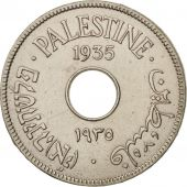 Palestine, 10 Mils, 1935, TTB, Copper-nickel, KM:4