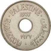 Palestine, 10 Mils, 1937, TTB, Copper-nickel, KM:4