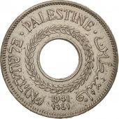 Palestine, 5 Mils, 1941, TTB, Copper-nickel, KM:3